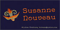 Sample image of Susanne Nouveau font by Lukas Krakora