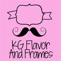 Sample image of KG Flavor and Frames font by Kimberly Geswein