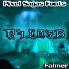 Sample image of Falmer font by Pixel Sagas