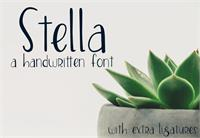 Sample image of Stella font by GroovyJournal