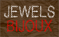 Sample image of Jewels font by CloutierFontes