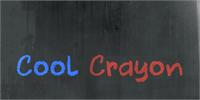 Sample image of DK Cool Crayon font by David Kerkhoff