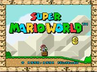 Sample image of Super Mario Bros. font by Mario Monsters