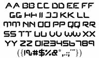 Sample image of Protos font by Rasul Hasan