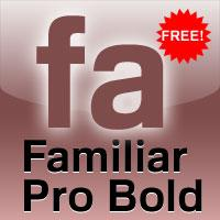 Sample image of Familiar Pro font by CheapProFonts