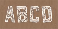 Sample image of Forgotten Playbill font by Lauren Ashpole
