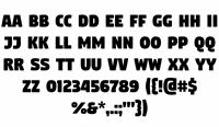 Sample image of Digitalt font by gluk