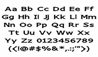 Sample image of Chizz font by Apostrophic Lab