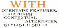 Sample image of Prida65 font by gluk