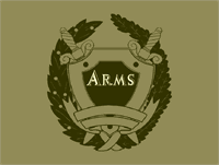 Sample image of Arms font by Intellecta Design