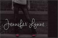 Sample image of Jennifer Lynne font by Brittney Murphy Design