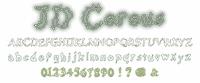 Sample image of JD Cereus font by Jecko Development