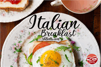 Sample image of Italian Breakfast font by RB Fonts