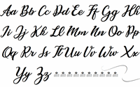 Sample image of Cassandra Personal Use font by Billy Argel