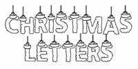 Sample image of CF Chritsmas Letters font by CloutierFontes