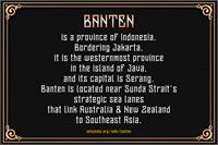 Sample image of Banten Unfamous 2 DEMO font by Mikrojihad Font