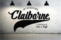 Sample image of Claiborne font by madeDeduk