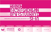 Sample image of seba font by weknow
