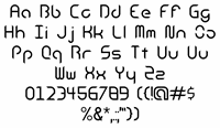 Sample image of Android Insomnia_ font by Mechanismatic