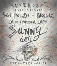 Sample image of Vtks Sunny Day font by VTKS DESIGN