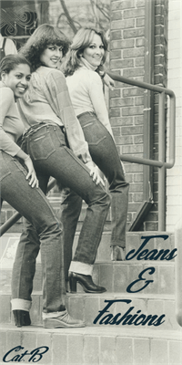 Sample image of Jeans & Fashions font by Foundmyfont Studio Typeface LTD