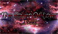Sample image of The Power Of Love font by Magic Fonts