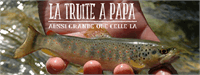 Sample image of LA TRUITE A PAPA font by Maellekeita