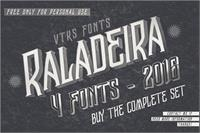 Sample image of Vtks Raladeira 2 font by VTKS DESIGN