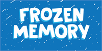 Sample image of DK Frozen Memory font by David Kerkhoff
