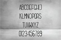 Sample image of Freeds font by Monocotype
