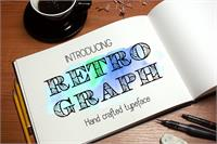 Sample image of Retrograph font by Eva Barabasne Olasz