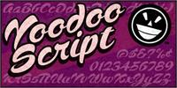 Sample image of Voodoo Script font by the Fontry