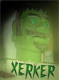 Sample image of XerkerFW font by Brain Eaters