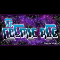 Sample image of SF Cosmic Age font by ShyFoundry
