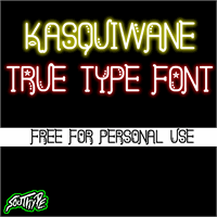 Sample image of Kasquiwane St font by Southype