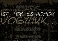 Sample image of Isa Por Es Homou font by Roland Huse Design