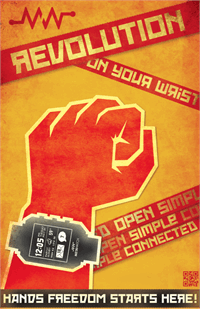 Sample image of Red October font by Neogrey Creative