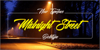 Sample image of Midnight Street  font by Octotype