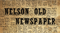 Sample image of NelsonOldNewsPaper font by CloutierFontes