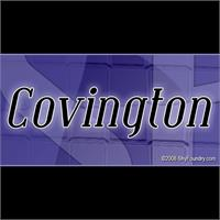 Sample image of SF Covington font by ShyFoundry