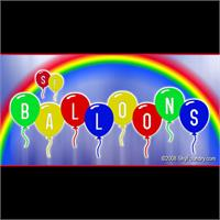 Sample image of SF Balloons font by ShyFoundry
