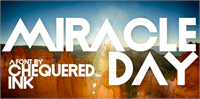 Sample image of Miracle Day font by Chequered Ink