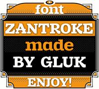 Sample image of Zantroke font by gluk