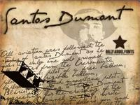 Sample image of SANTOS DUMONT font by Billy Argel