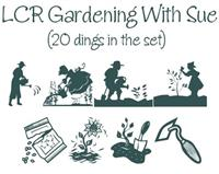 Sample image of Gardening With Sue font by LeChefRene