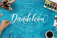 Sample image of Dandeleon Vintage Demo font by burntilldead