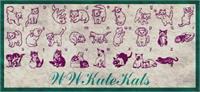 Sample image of WWKuteKats font by WindWalker64