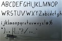 Sample image of Foggy_Sky font by SiberianHuskyFonts