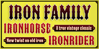 Sample image of IRON FAMILY font by the Fontry