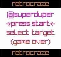 Sample image of RetroCraze font by 404maciej